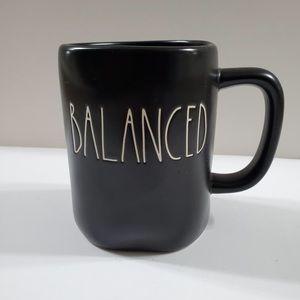 Rae Dunn - Black Balanced Mug